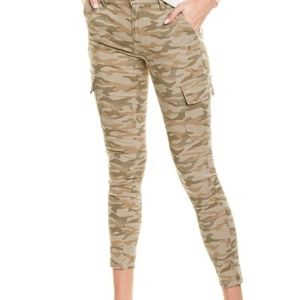 Joe's Jeans Mid Rise Utility Skinny Ankle Cropped